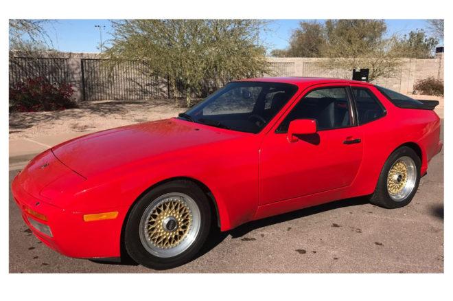 1985 5 Porsche 944