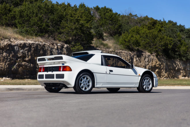 1986 Ford RS200 Rear Three Quarter 660x440