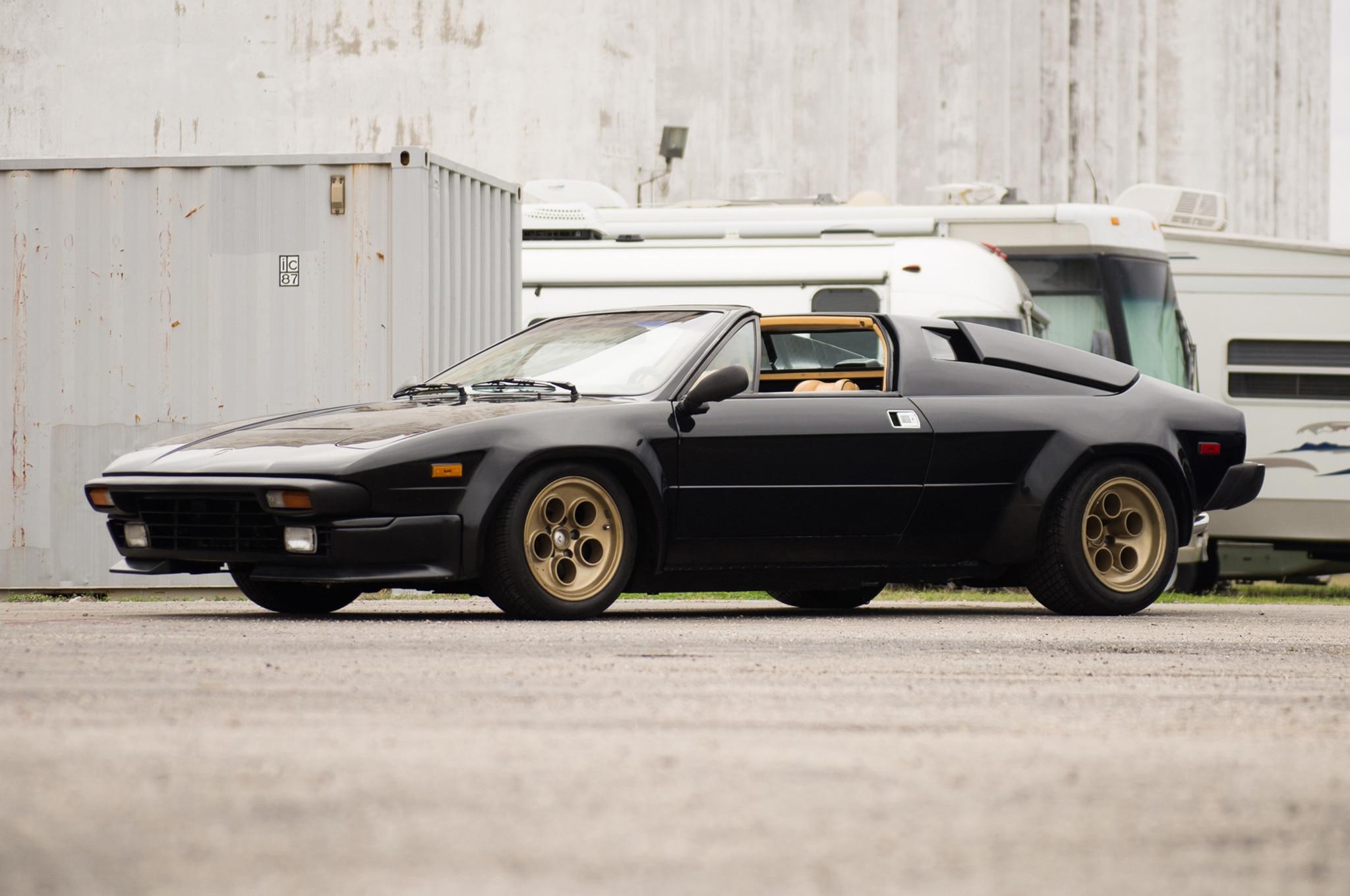 1988 Lamborghini Jalpa Just Listed Front Three Quarters