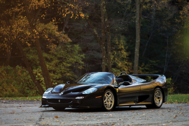1995 Ferrari F50 Front Three Quarter