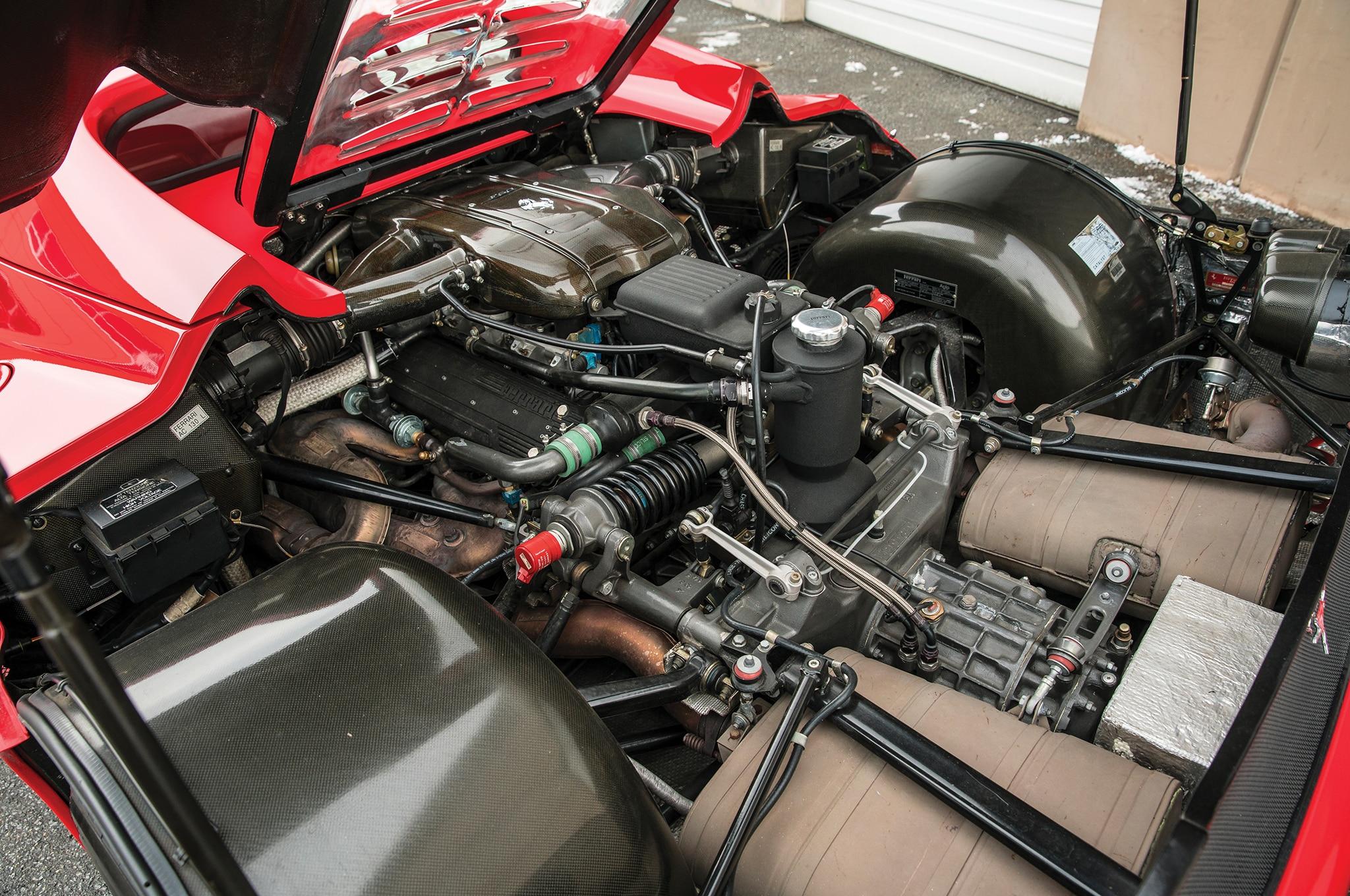 Just Listed: Mike Tyson's 1995 Ferrari F50 | Automobile ...