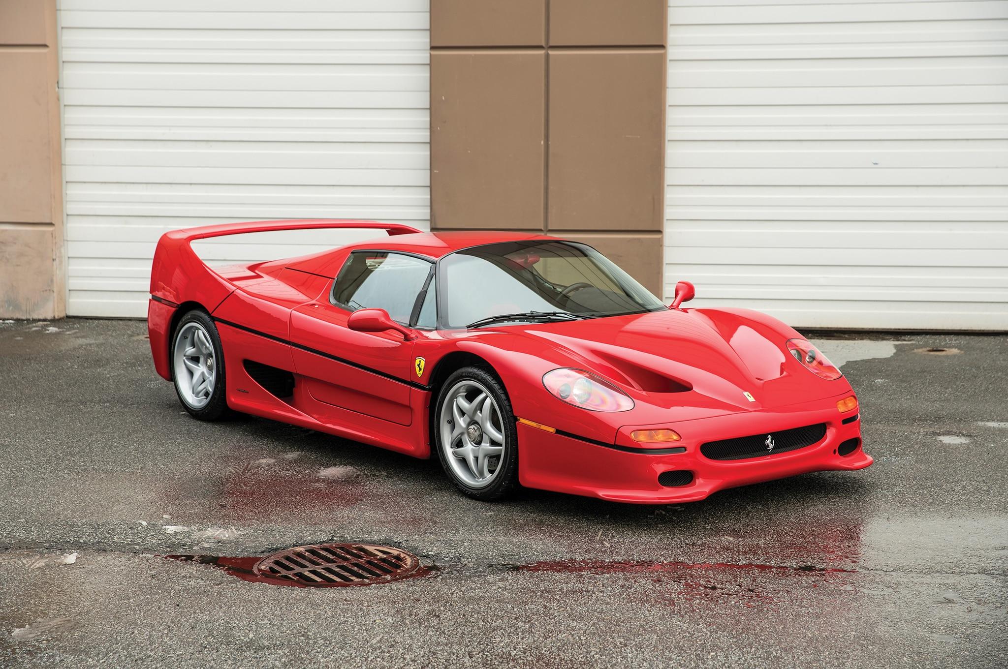 1995 Ferrari F50 RM Sothebys Front Three Quarters