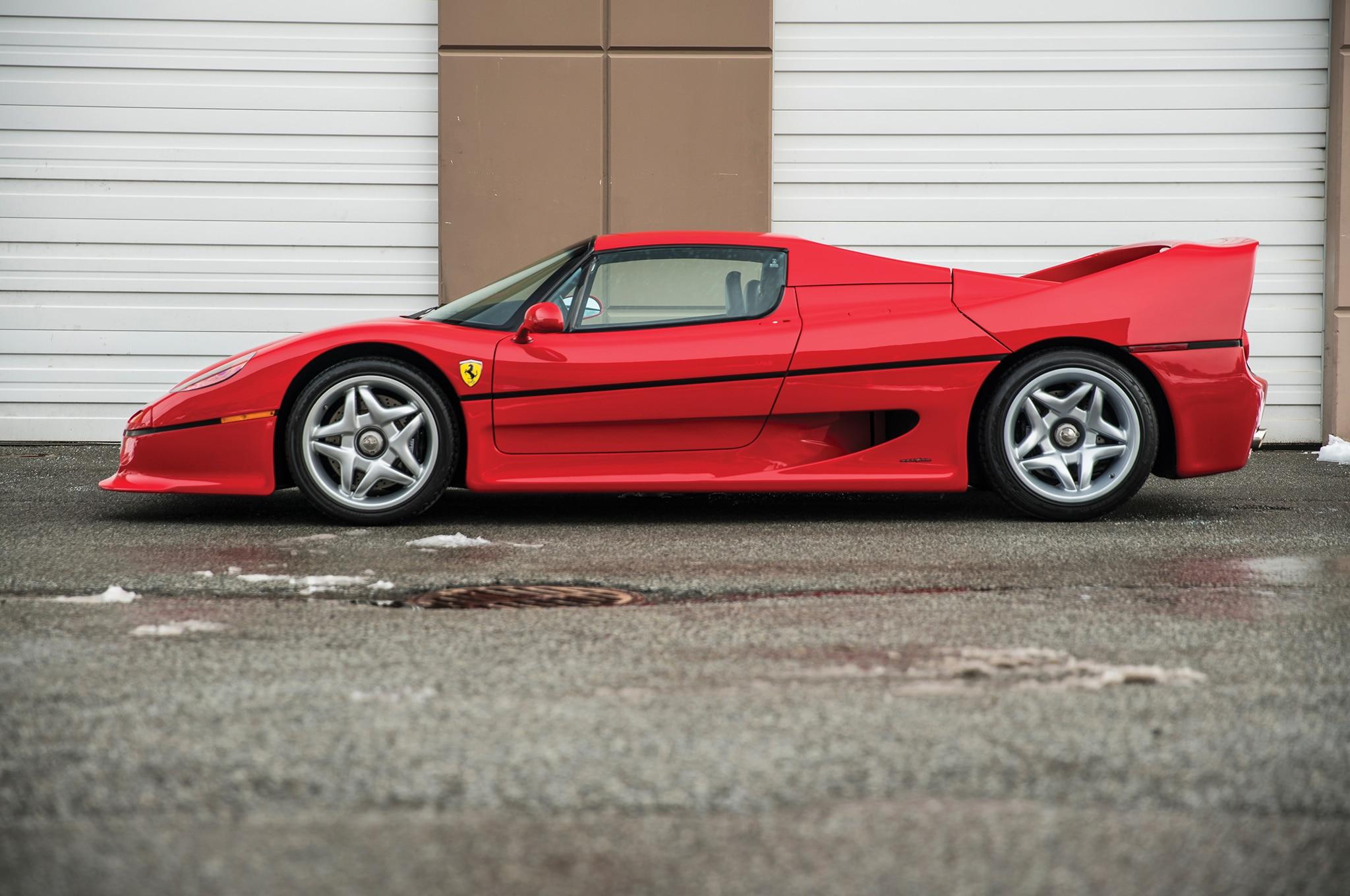 Just listed mike tysons 1995 ferrari f50 automobile magazine unlike the enzo vanachro Choice Image
