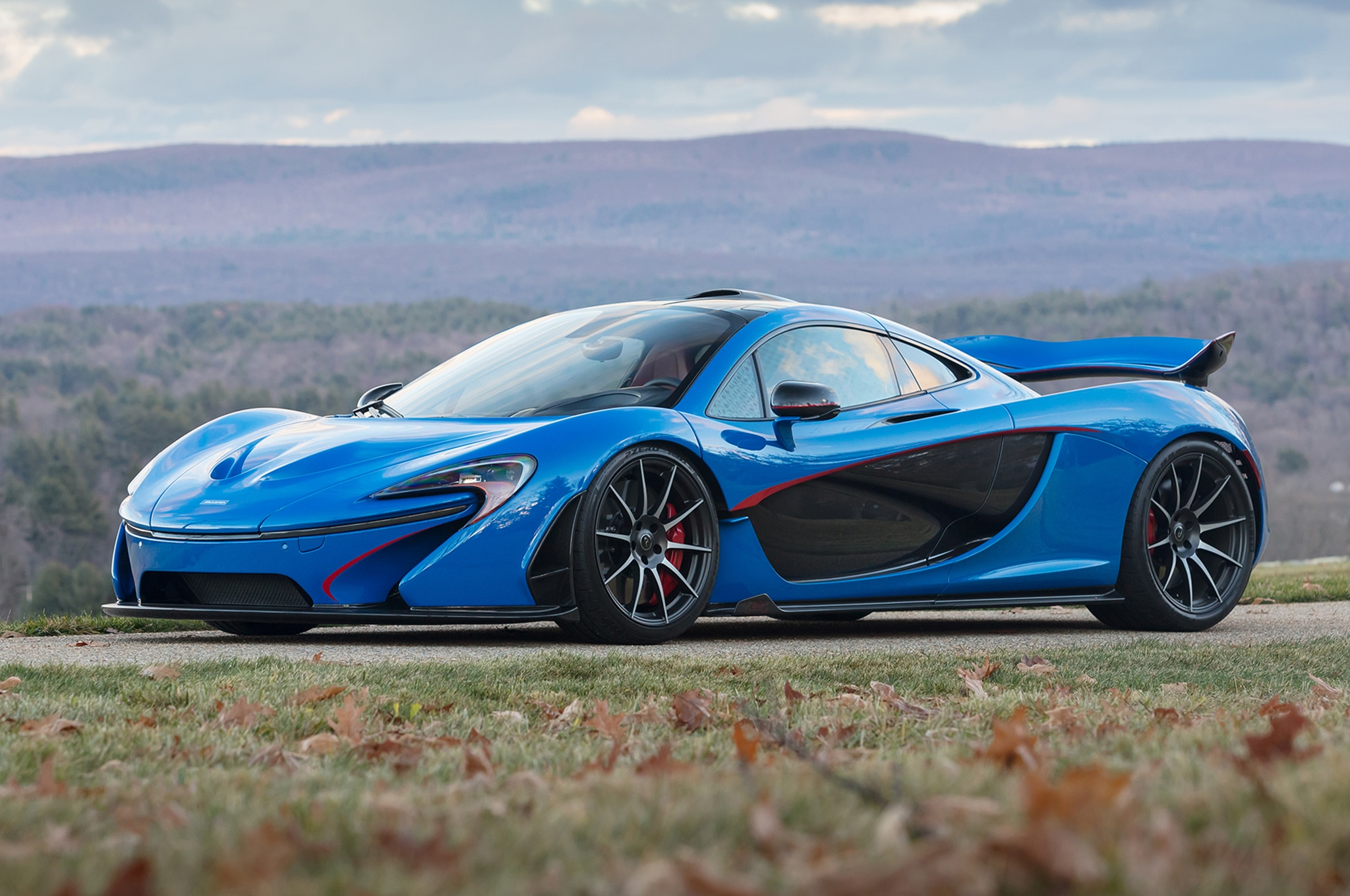 2015 McLaren P1 Gooding And Co Front Three Quarters