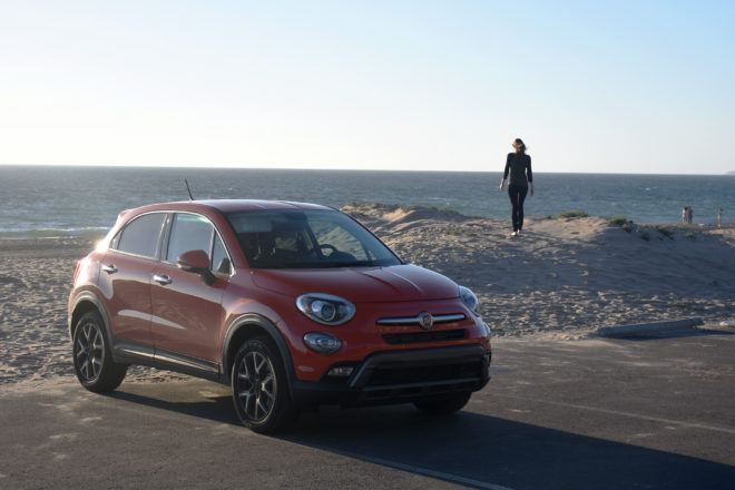 2016 Fiat 500X Trekking Four Seasons Update 3 Front Three Quarter 03