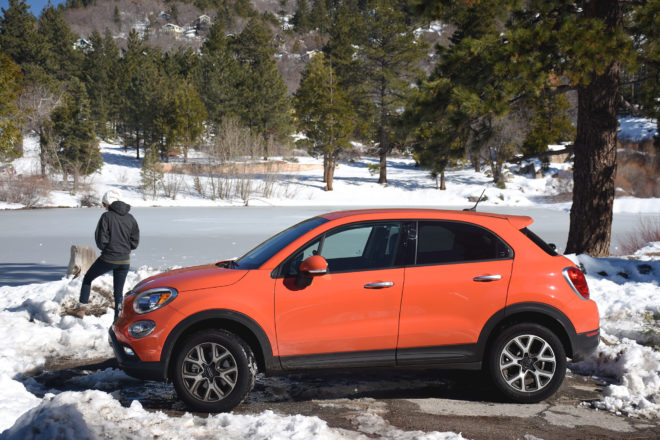 2016 Fiat 500X Trekking Four Seasons Update 3 Left Side 02
