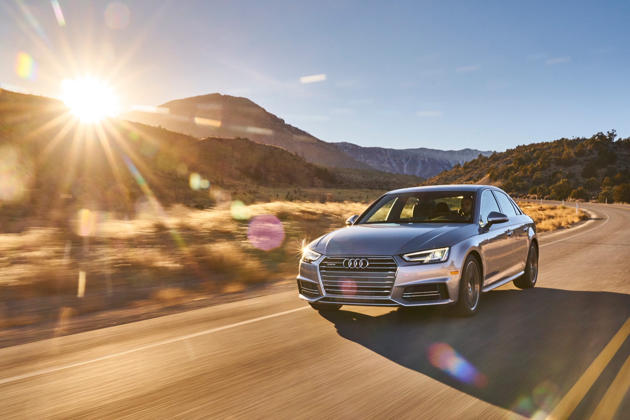 2017 Audi A4 All Stars Contender Front Three Quarter 03