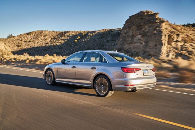 2017 Audi A4 All Stars Contender Rear Three Quarter 01