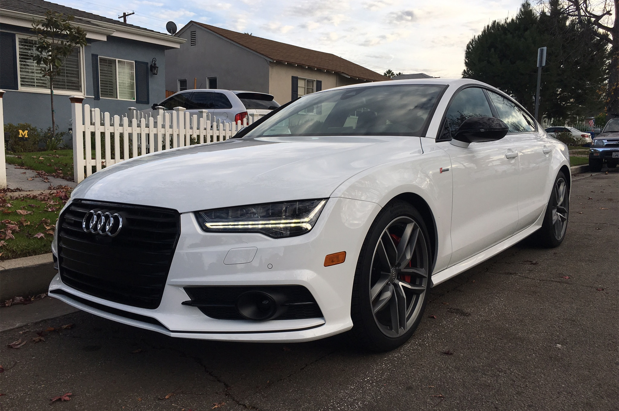 2017 Audi A7 3 0T Competition Quattro Front Three Quarter