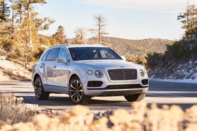 Bentley Bentayga with Mulliner signature heading to Geneva
