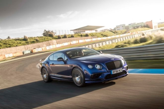 2017 Bentley Continental Supersports Front Three Quarter In Motion 06 1 660x440