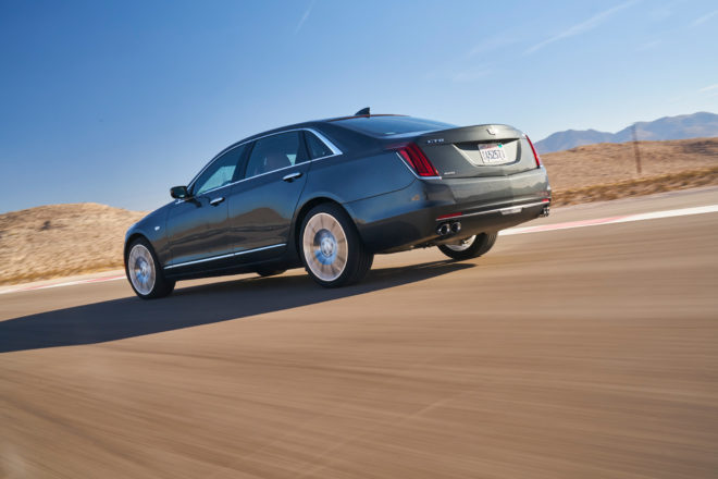 2017 Cadillac CT6 All Stars Contender Rear Three Quarter 01