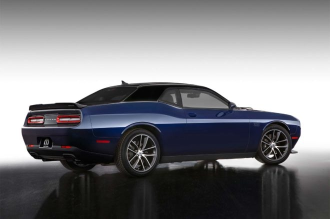 2017 Dodge Challenger by Mopar rear three quarter 03 1