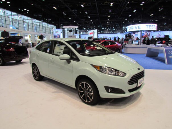 2017 Ford Fiesta Bohai Bay Mint