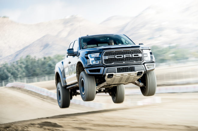 2017 Ford Raptor In The Air 660x438