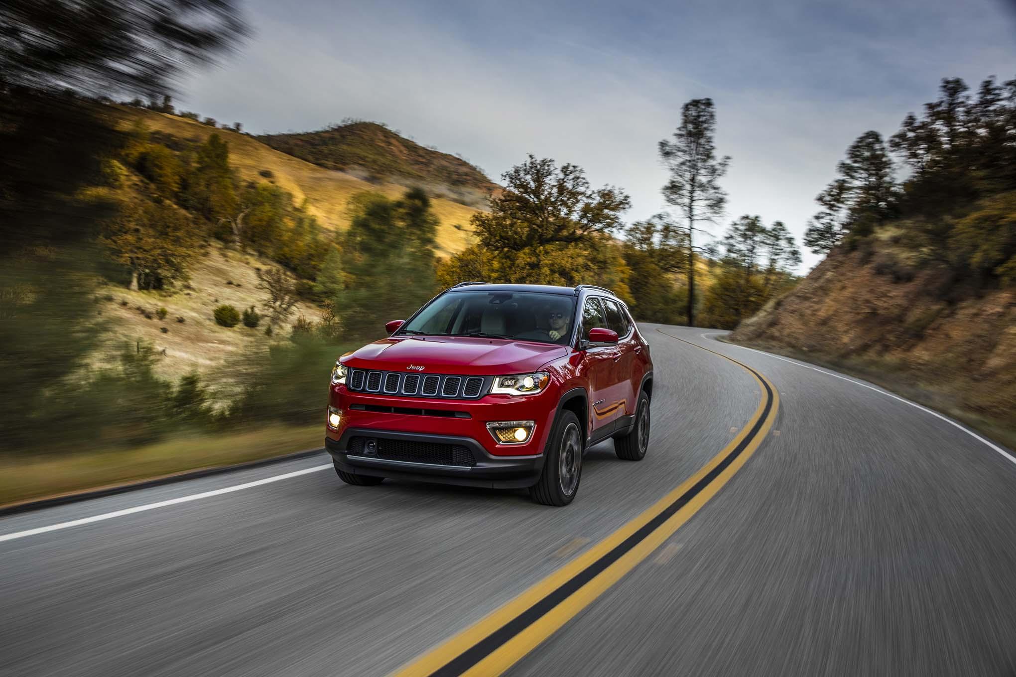 2017 jeep compass first drive automobile magazine. Black Bedroom Furniture Sets. Home Design Ideas