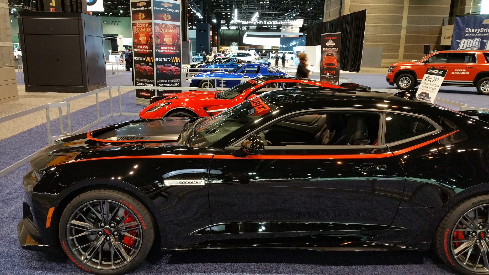 Lingenfelter Chevrolets Light Up The 2017 Chicago Auto