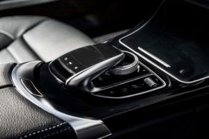 2017 Mercedes AMG C43 Coupe COMAND touchpad