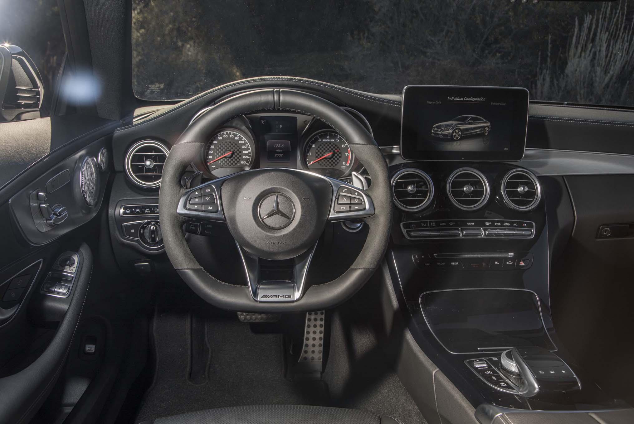 2017 Mercedes AMG C43 Coupe Cockpit 03