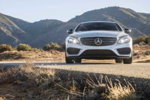 2017 Mercedes AMG C43 Coupe front end