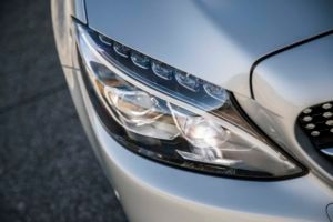 2017 Mercedes AMG C43 Coupe headlight