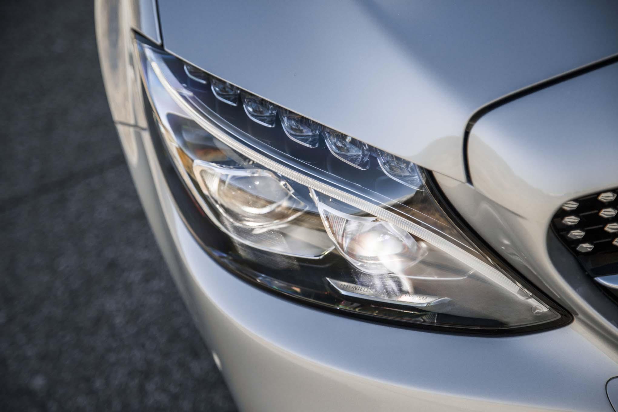 2017 Mercedes AMG C43 Coupe Headlight