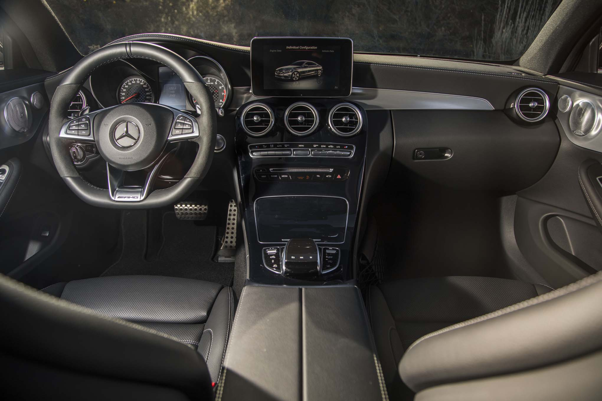 2017 Mercedes AMG C43 Coupe Interior 02
