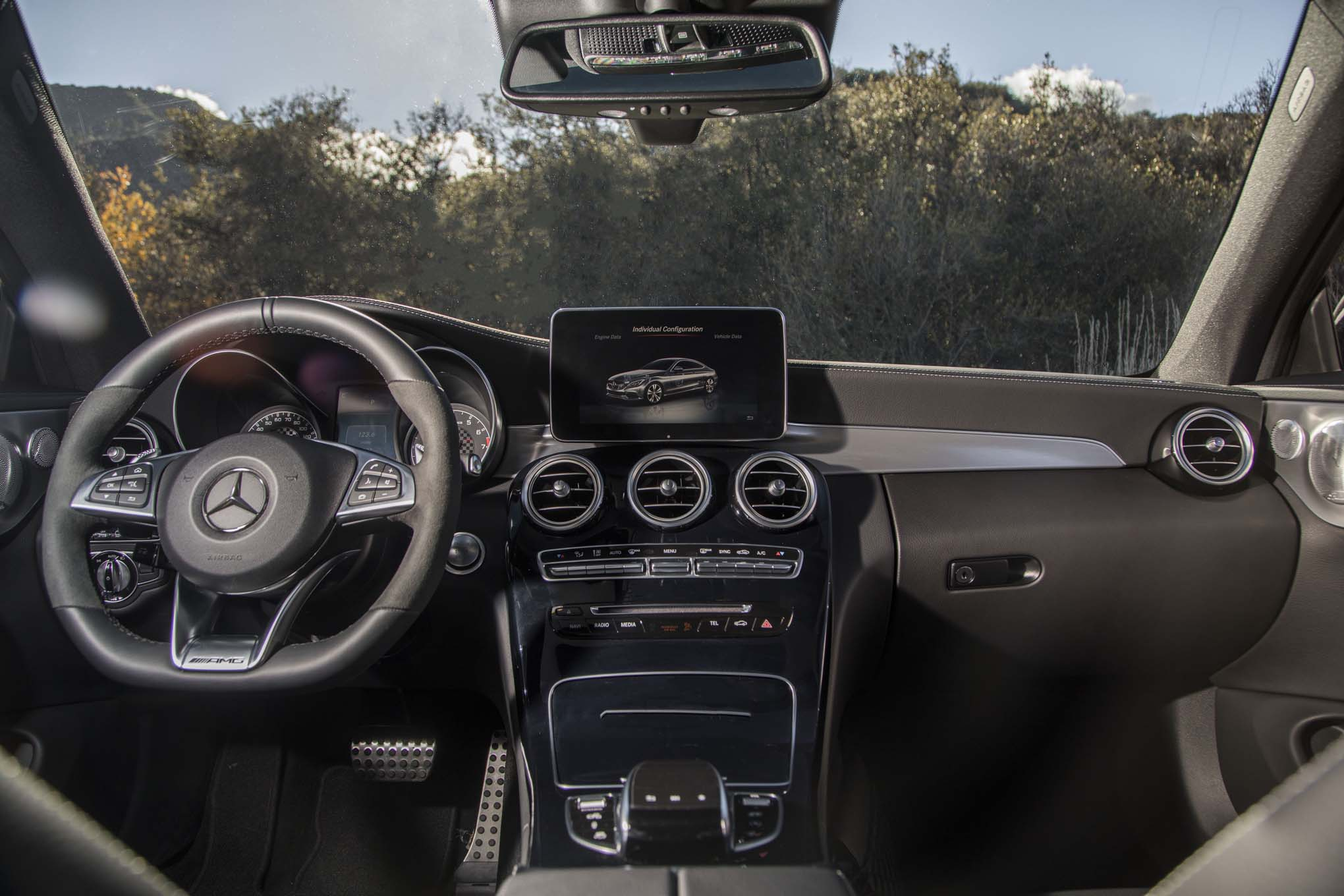 2017 Mercedes AMG C43 Coupe Interior 03