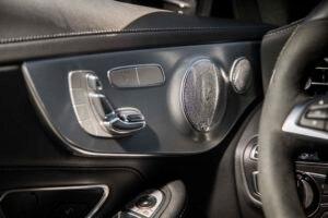 2017 Mercedes AMG C43 Coupe interior door panel speaker