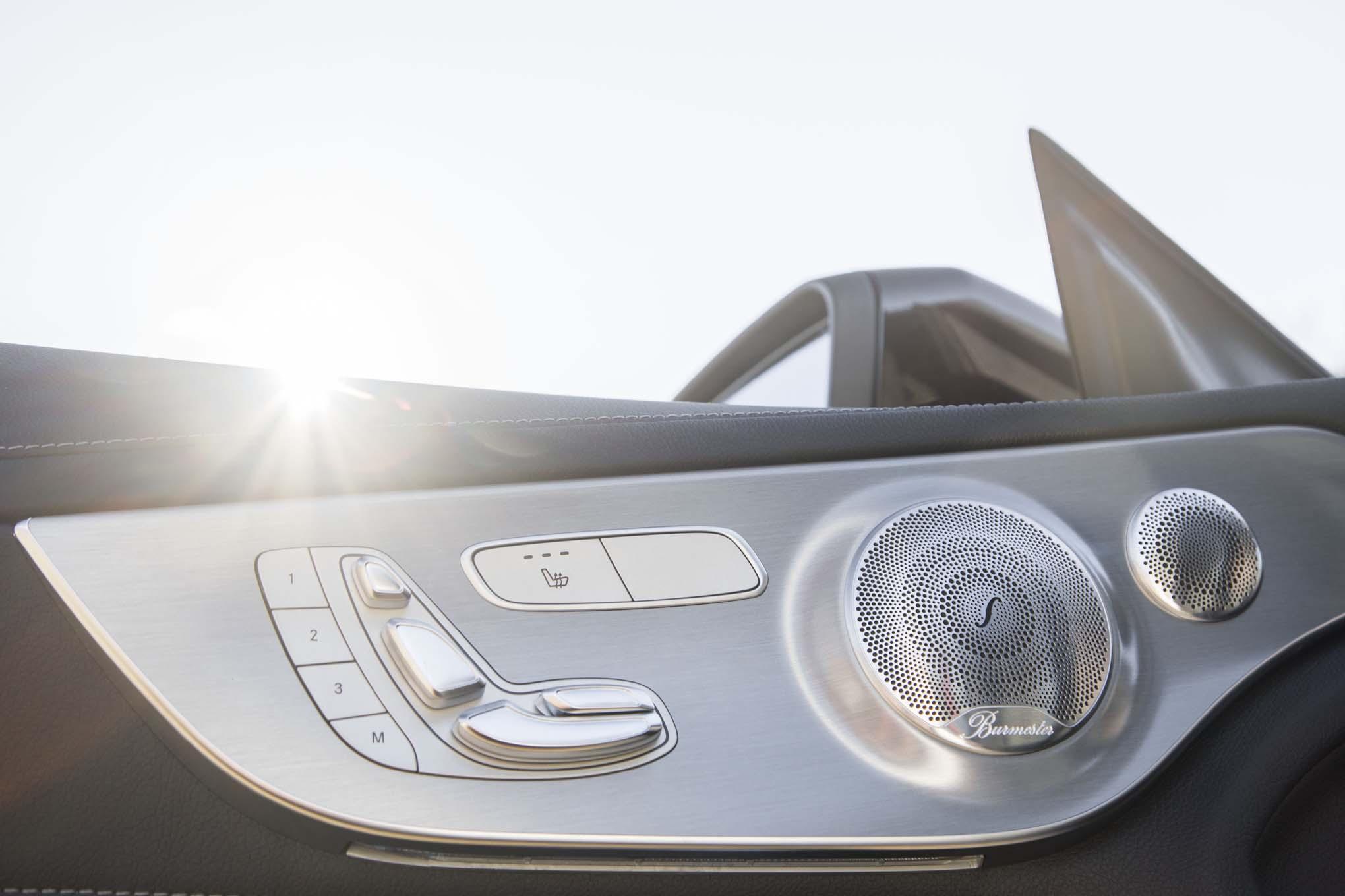 2017 Mercedes AMG C43 Coupe Interior Door Panel