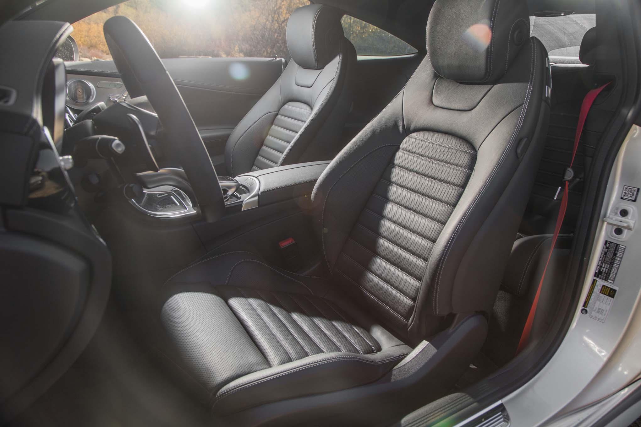 2017 Mercedes AMG C43 Coupe Interior Seats
