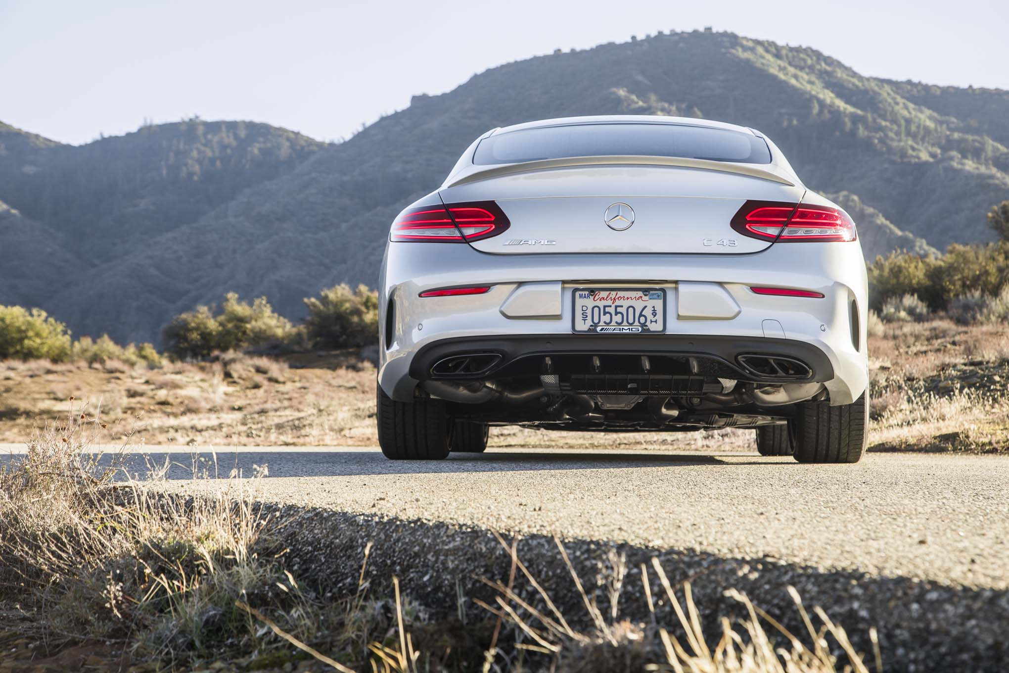 2017 Mercedes AMG C43 Coupe Rear End