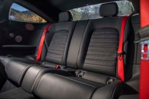 2017 Mercedes AMG C43 Coupe rear interior seats