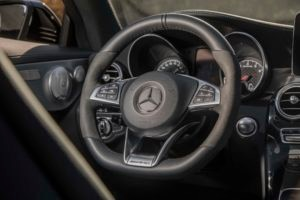 2017 Mercedes AMG C43 Coupe steering wheel