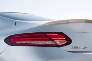 2017 Mercedes AMG C43 Coupe taillight