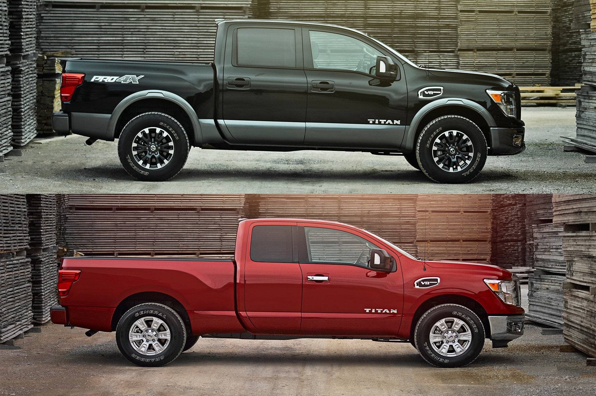 2017 nissan titan and titan xd get king cabs automobile magazine. Black Bedroom Furniture Sets. Home Design Ideas