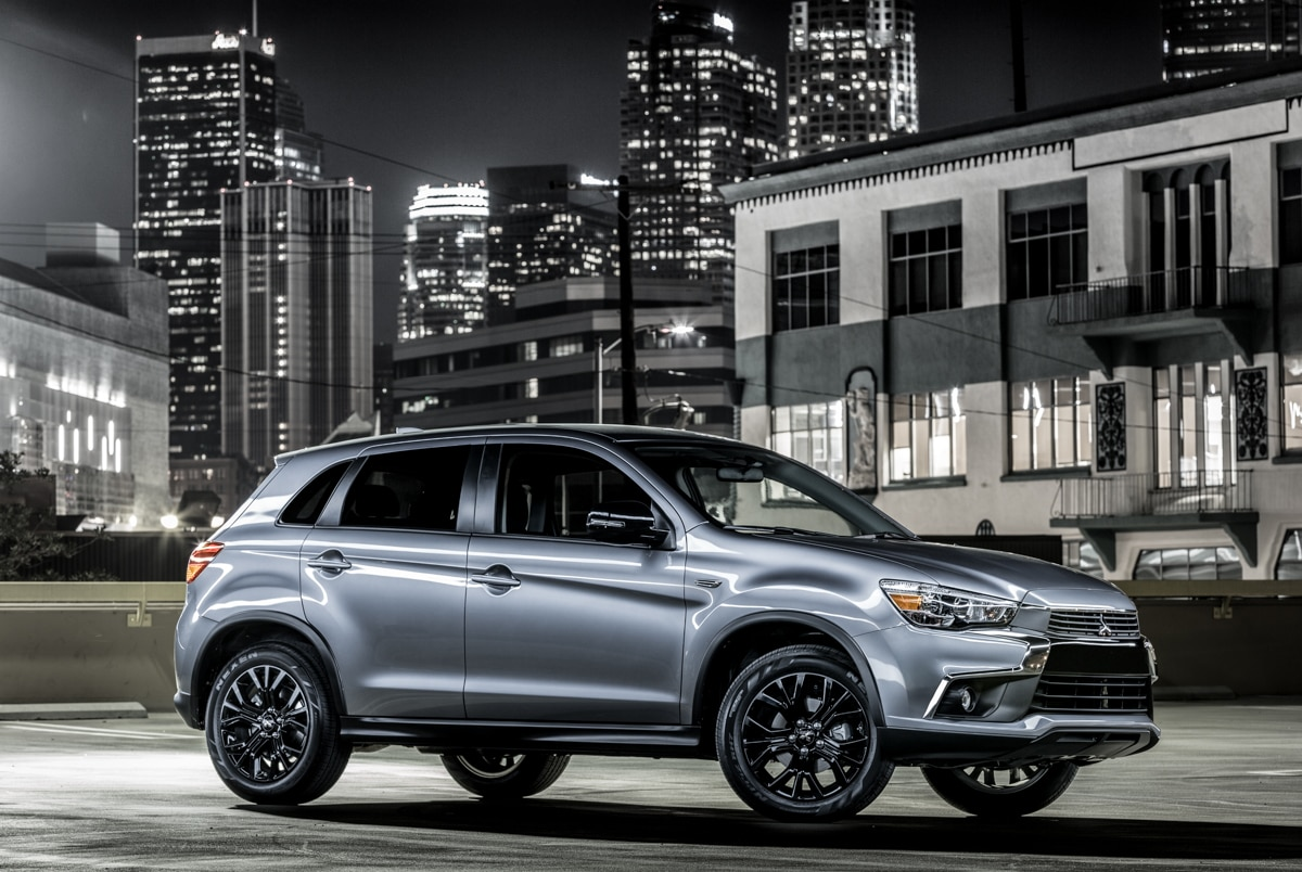 2017 mitsubishi outlander sport limited edition unveiled in chicago automobile magazine. Black Bedroom Furniture Sets. Home Design Ideas