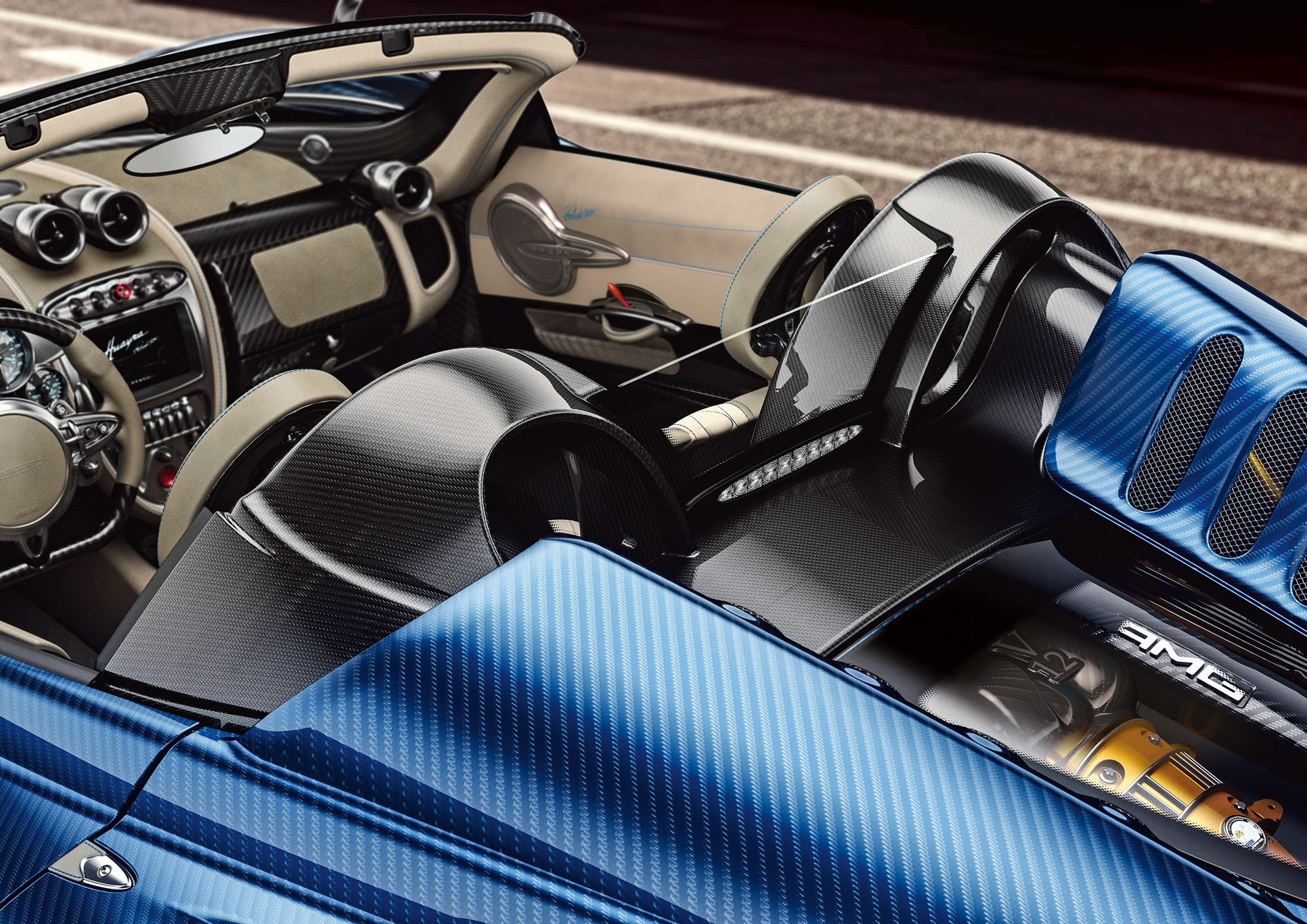Pagani Huayra Roadster Arrives With 764 Horsepower