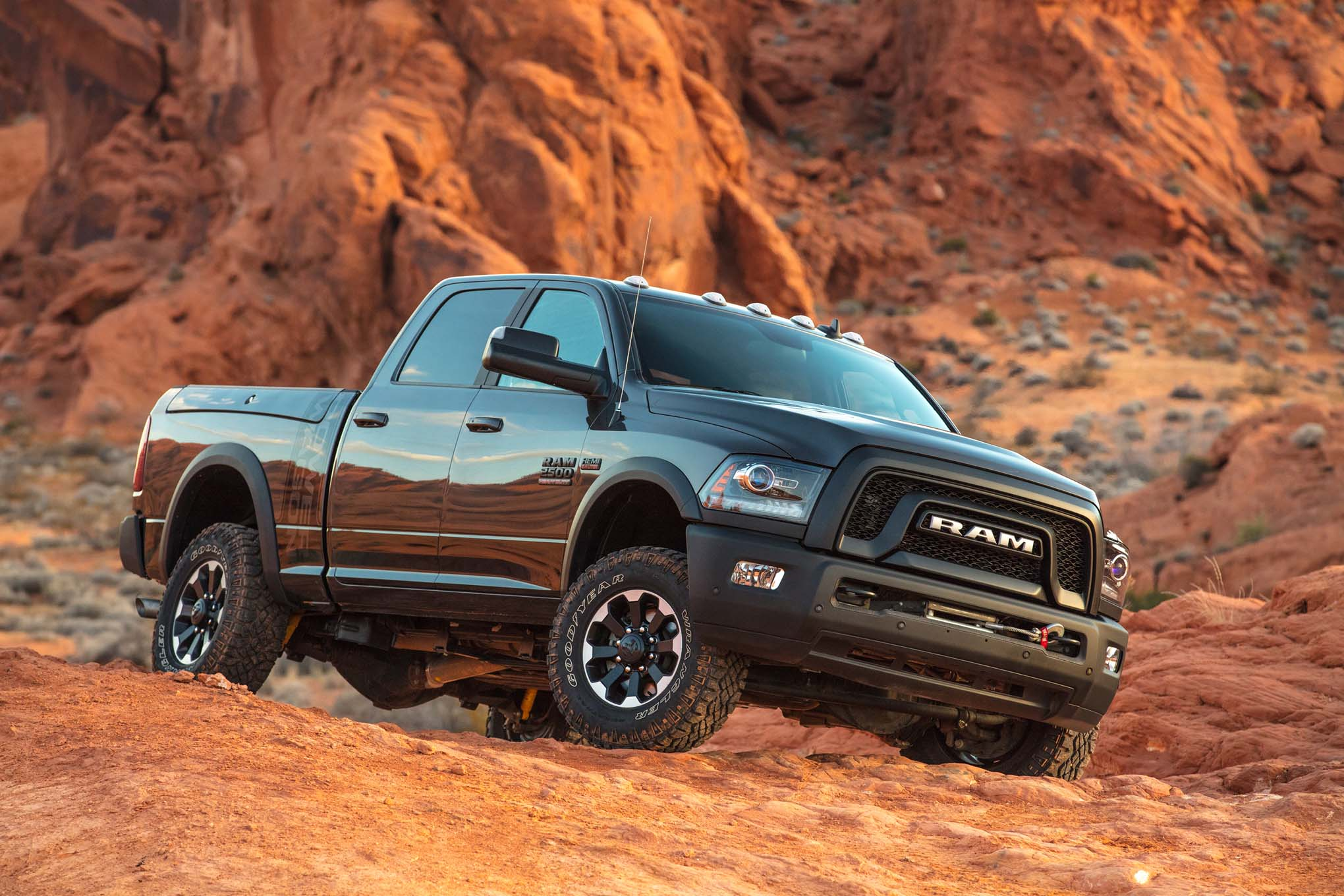 first drive 2017 ram power wagon automobile magazine. Black Bedroom Furniture Sets. Home Design Ideas