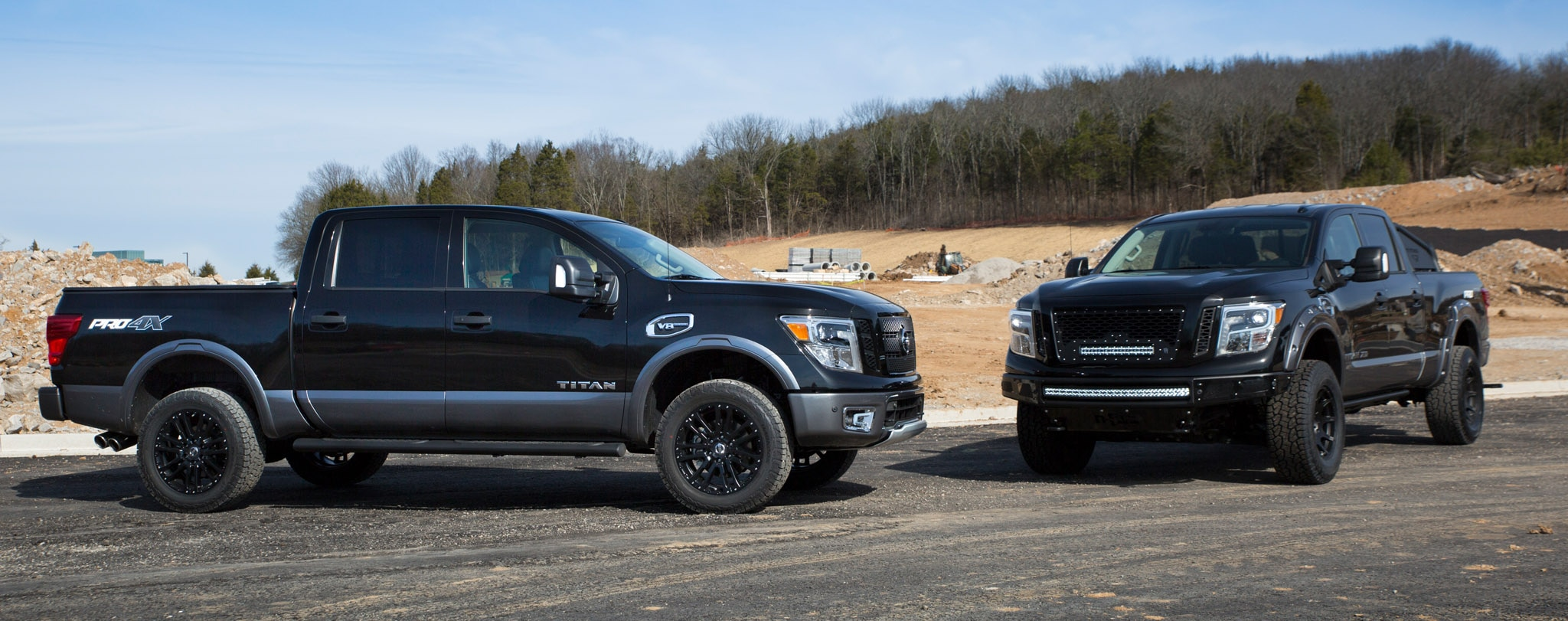 nissan builds a snow monster 2017 titan pro 4x for chicago auto show automobile magazine. Black Bedroom Furniture Sets. Home Design Ideas