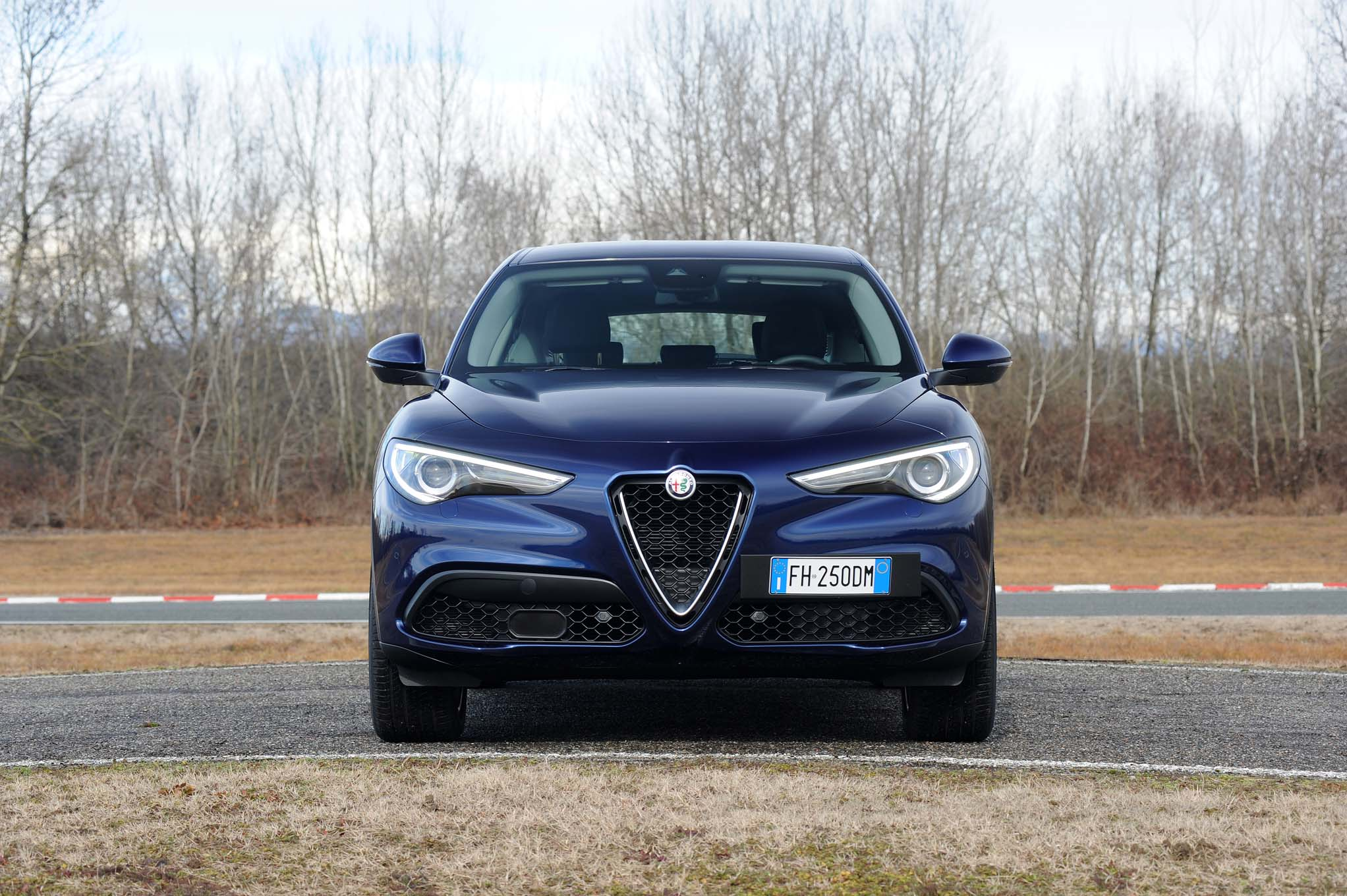 Original 2018 Alfa Romeo Stelvio Q4 First Drive Review