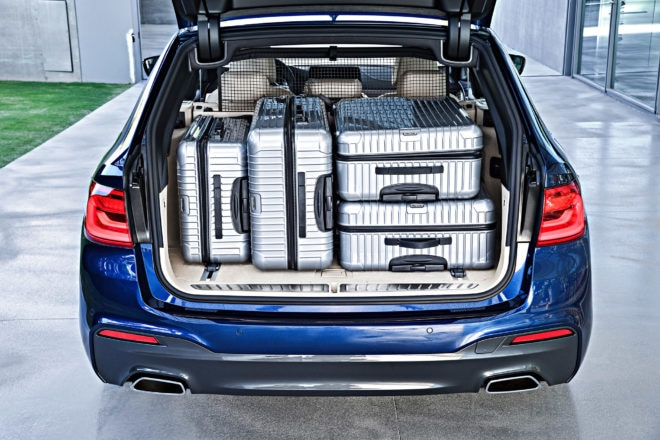 2018 BMW 5 Series Touring Packed
