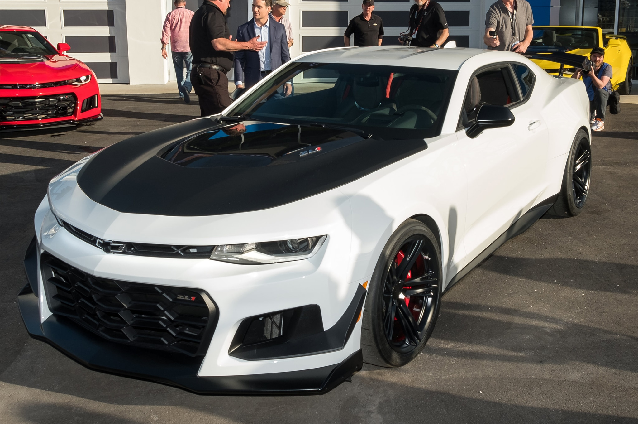Say Hello To The 2018 Chevrolet Camaro Zl1 1le