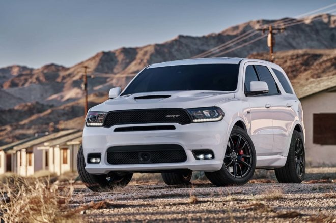 Dodge Durango SRT: Fastest 3-row SUV