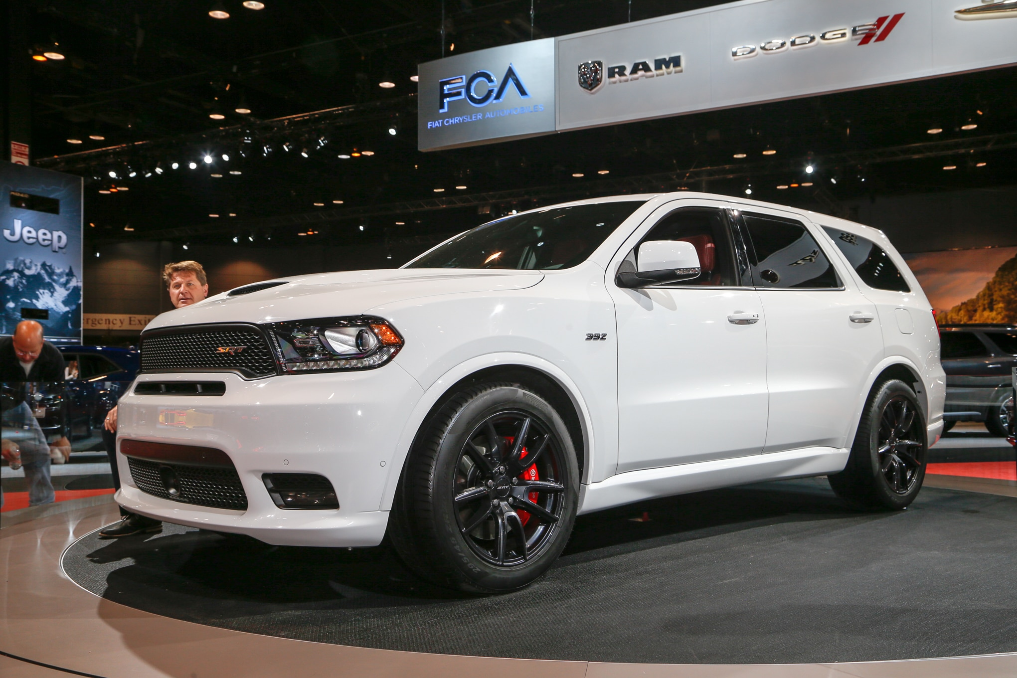 2018 Dodge Durango SRT Front Three Quarter 1