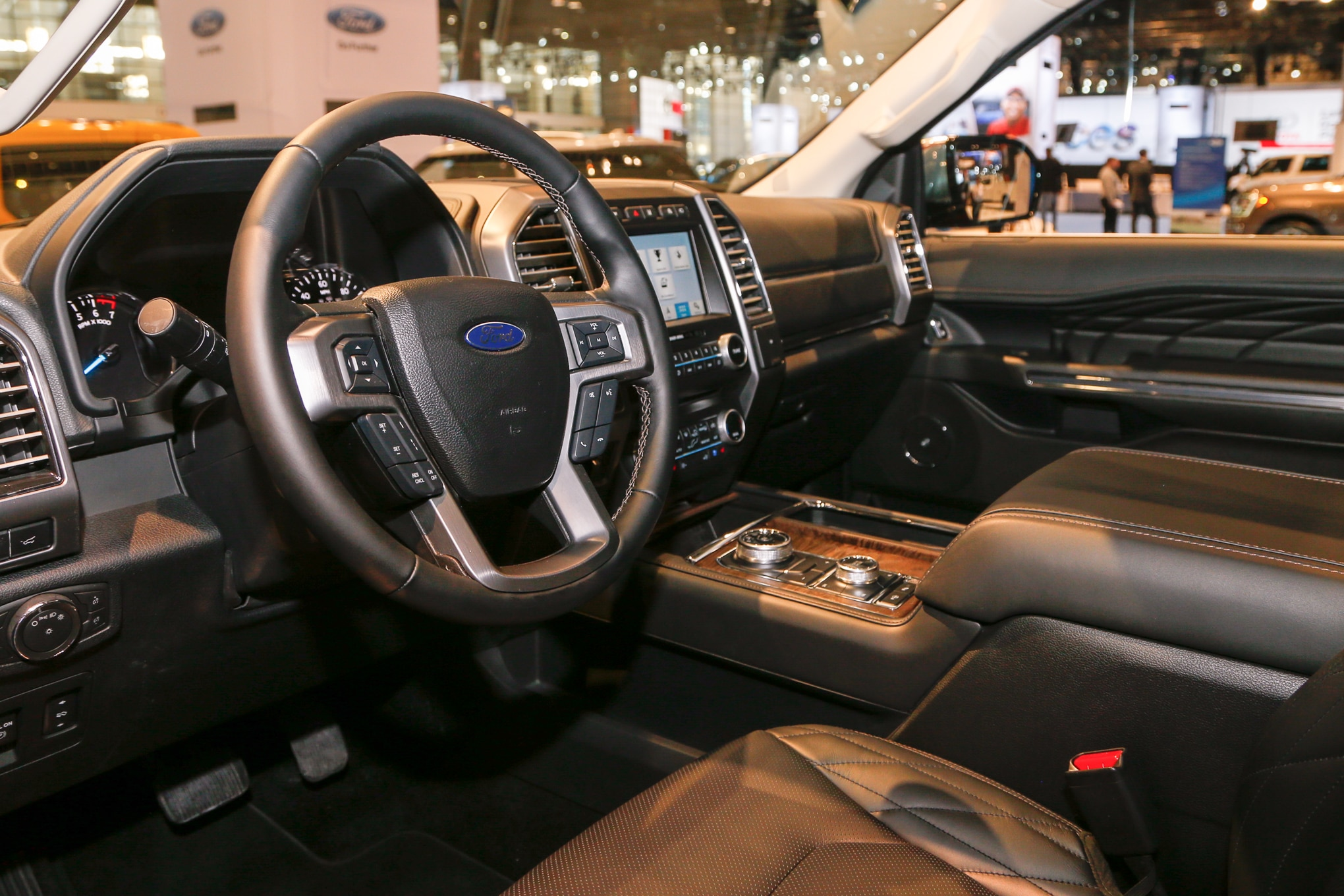 2018 ford expedition first look automobile magazine - 2017 ford expedition platinum interior ...