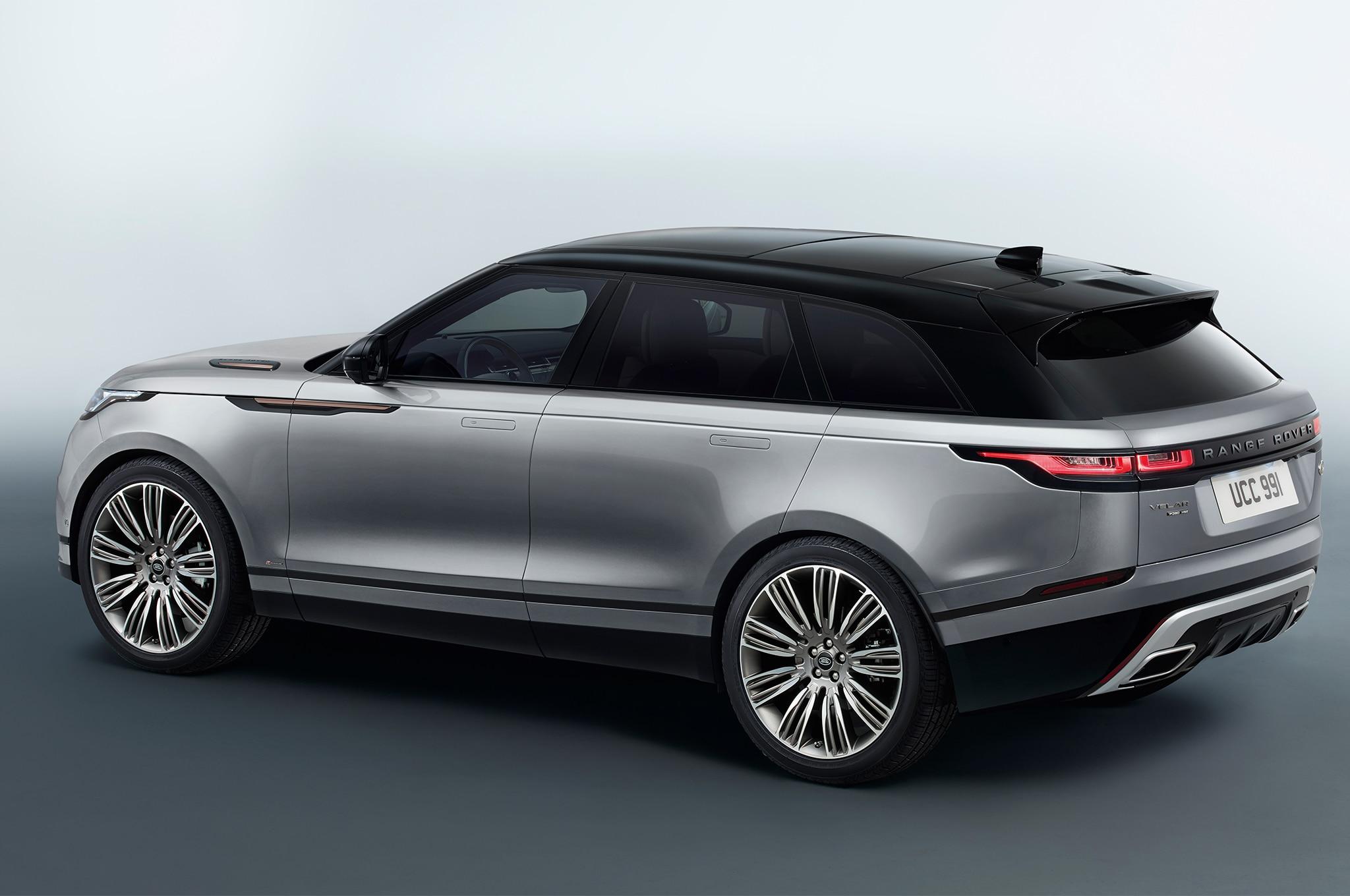 first look 2018 range rover velar automobile magazine. Black Bedroom Furniture Sets. Home Design Ideas