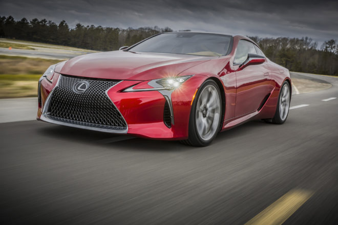 """Toyota Applies for """"Lexus LC F"""" Trademark in Europe, Likely Confirming Variant"""