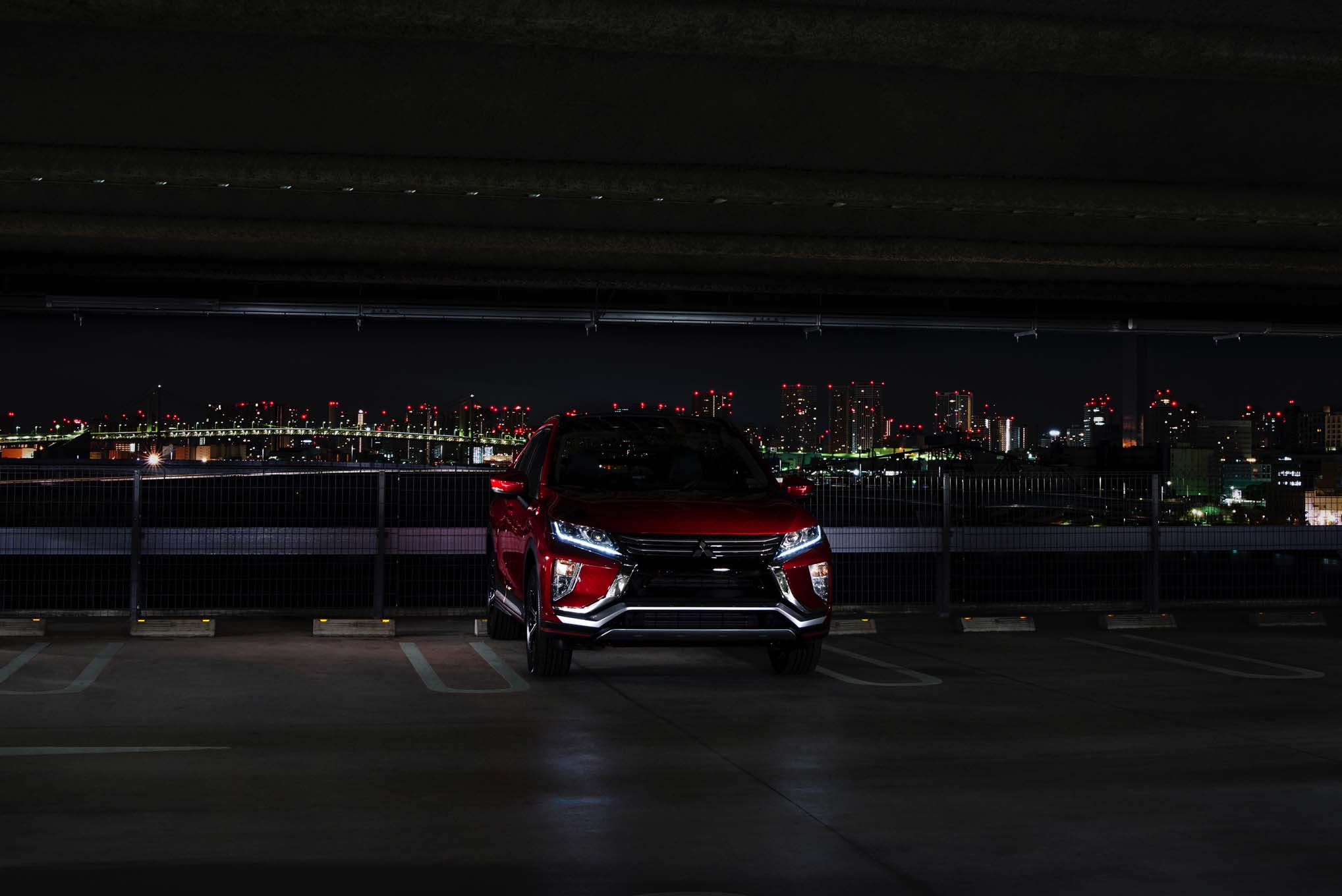 2018 Mitsubishi Eclipse Cross Front End Parked 1