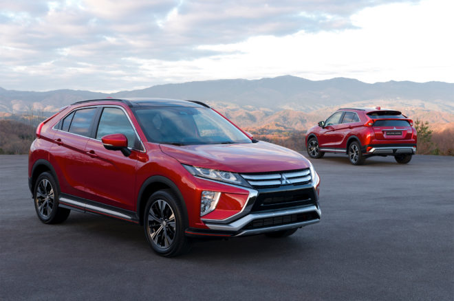 Mitsubishi reveals Eclipse Cross SUV